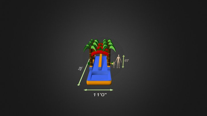 With Pumps And Baffle 3D Model