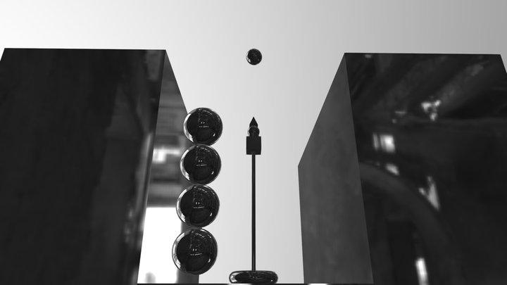Optical Animation 3D Model