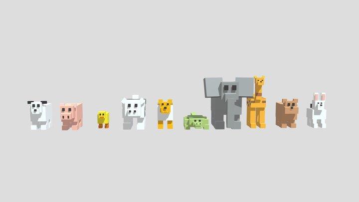 LP Animals 3D Model