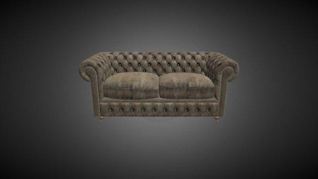 Sofa Web 3D Model