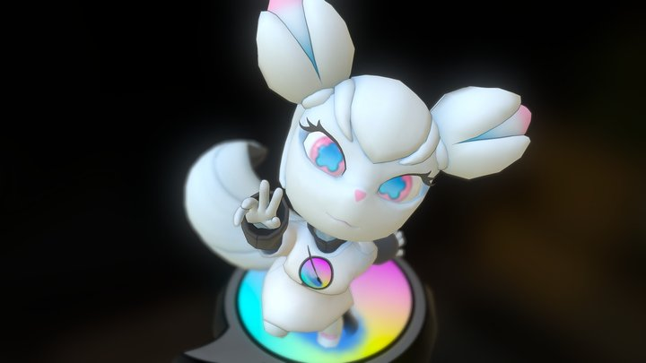 Fan Art  - Kiki 3D Model