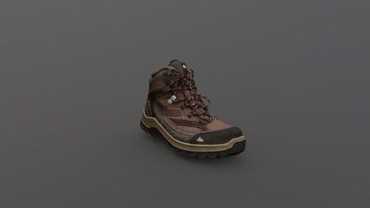 Quechua Boot 3D Model