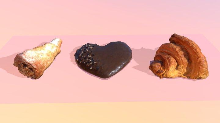 Desserts. 3D Model