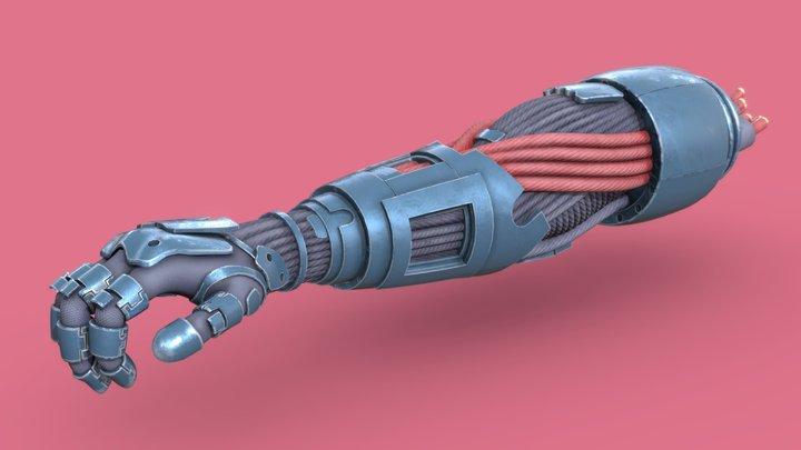 🦾  Silver Hand 🦾 3D Model