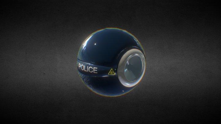 Police drone 3D Model