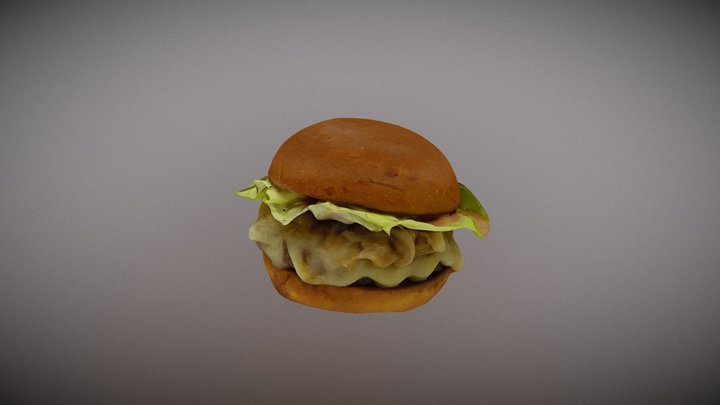 Belcampo Burger 3D Model