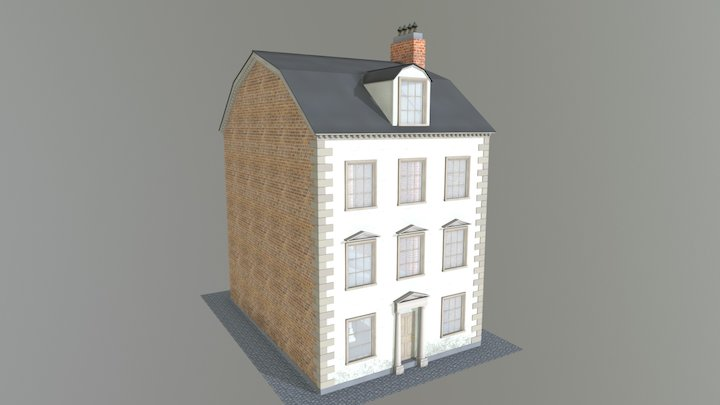 1700s Russian House 3D Model
