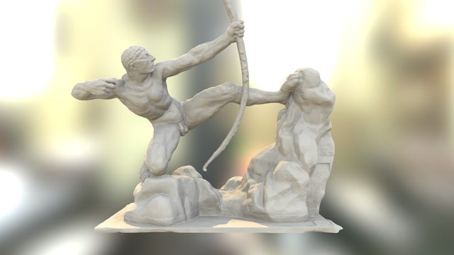 Héraklès archer 3D Model