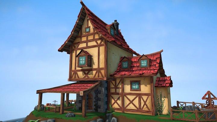 Pottery Island 3D Model