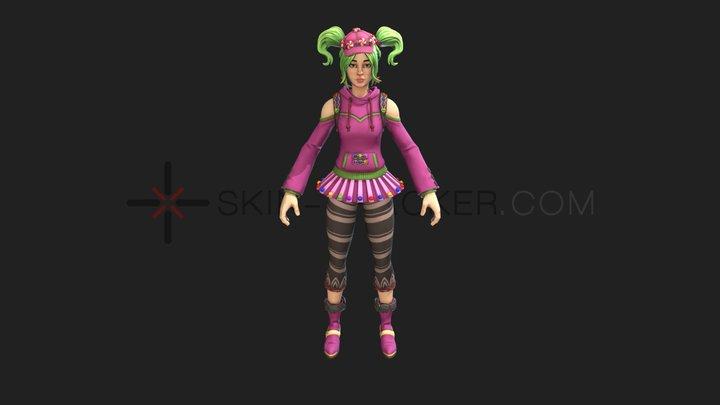 Fortnite - Zoey 3D Model