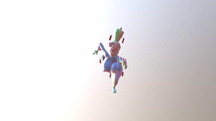 runnerselfi1_60md 3D Model
