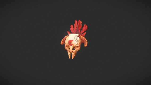 Shaman Red - Hypixel Warlords Game 3D Model