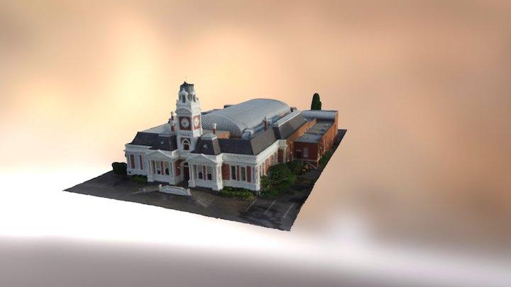 Ararat Town Hall 3D Model