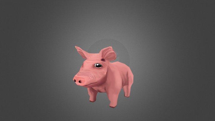 Eco Pig 3D Model