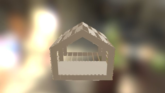 Philippines Plywood House 3D Model