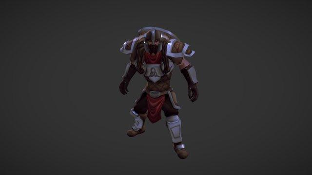 Norse Warrior 3D Model