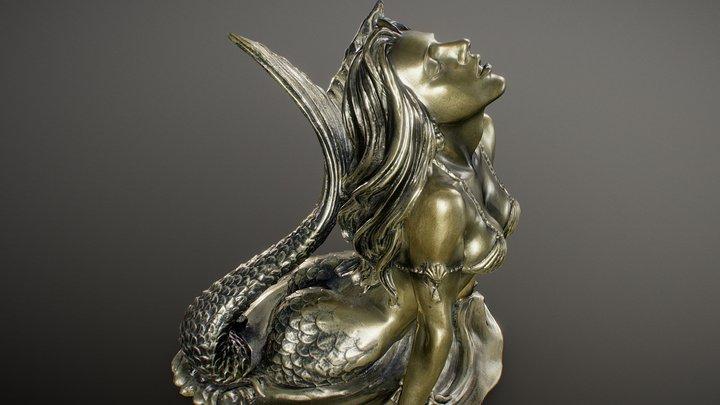Ocean Goddess Figurine 3D Model