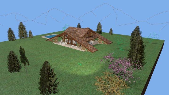 Boceto Casa AyS 3D Model