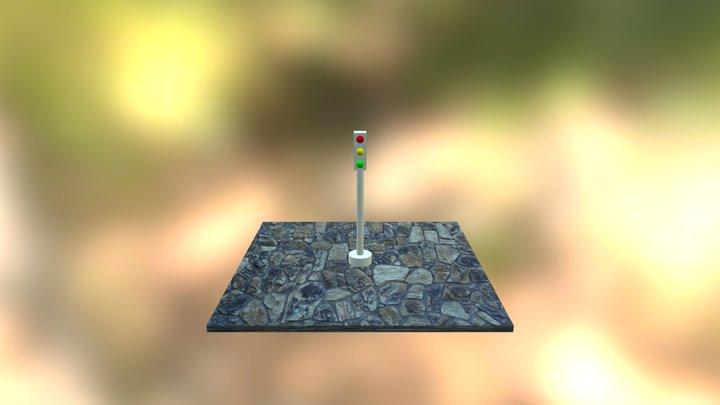 Semaforo 3D Model