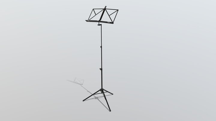 Note Stand 3D Model