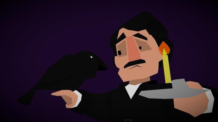 Poe 3D Model