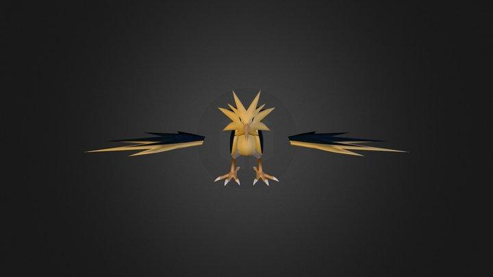 Zapdos 3D Model