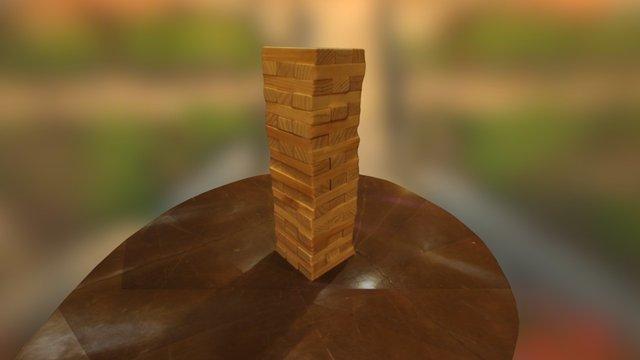 Jenga 3D Model