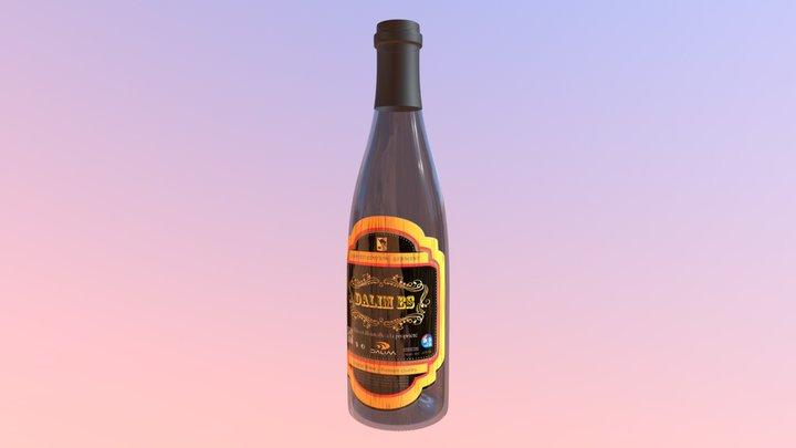 UNFEA Wine Bottle 3D Model