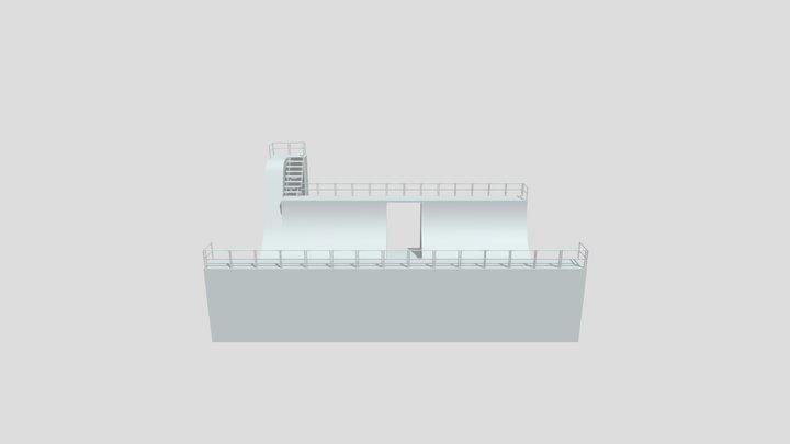 Skateramp 3D Model
