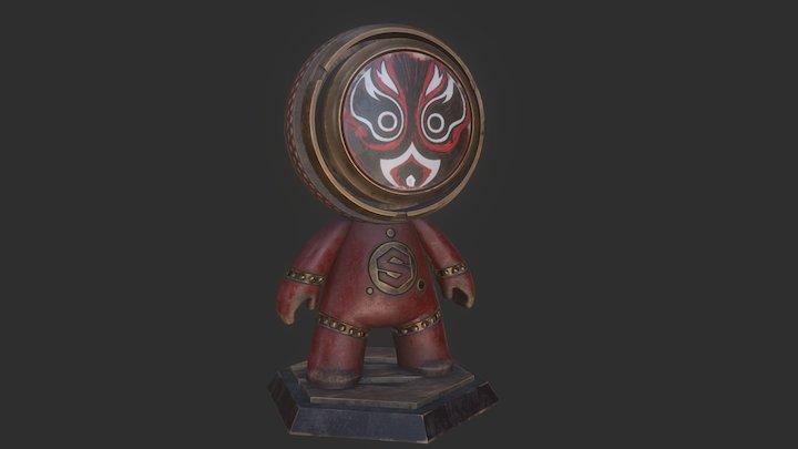 MeetMAT_DrumMat 3D Model