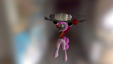 Pyro Pinkie 3D Model