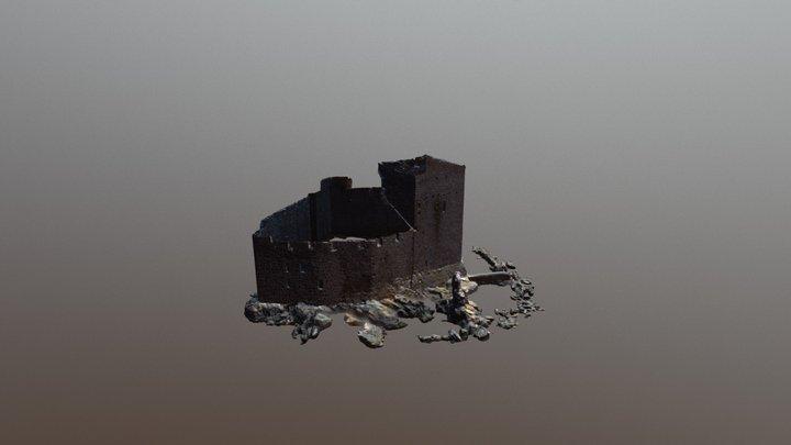 Kisimul Castle 3D Model