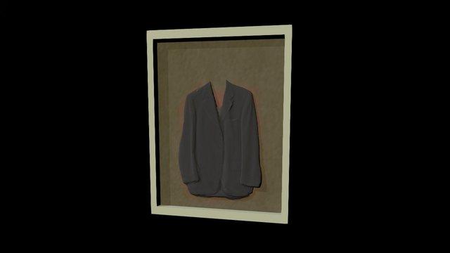 Jacket Gray Painting 3D Model