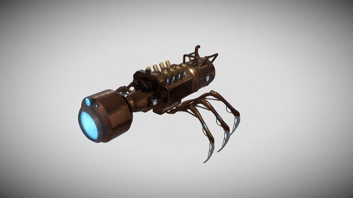 Ant robot steampunk 3D Model