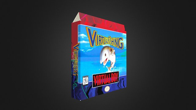 Virtual Fishing Box 3D Model