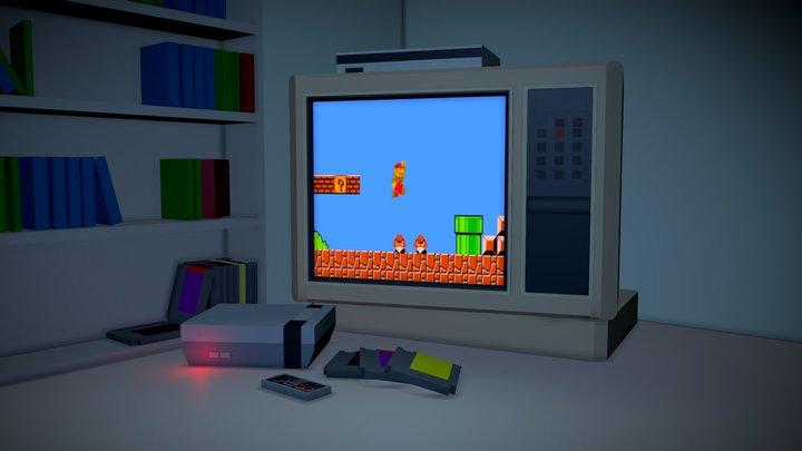 Demo: Viewer API & Nintendo NES Emulator 3D Model