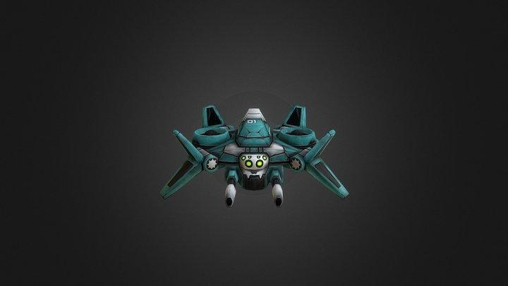 Drone Reaper 3D Model