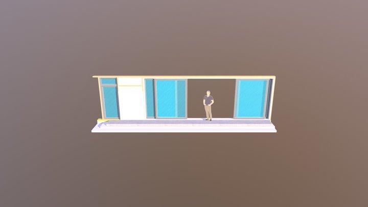 Sliding Window Measurements 3D Model