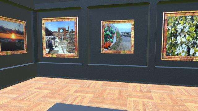 Instamuseum for @jamesbarberphotography 3D Model