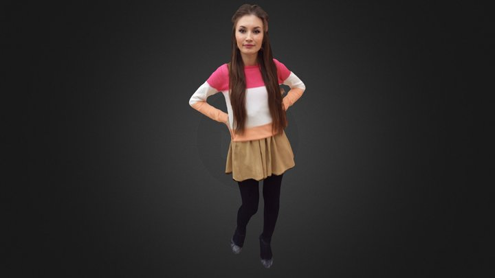 Zhenya 3D Model