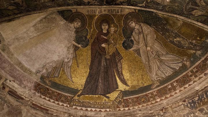 Mosaic of Panagia tis Angeloktisti, Kiti, Cyprus 3D Model
