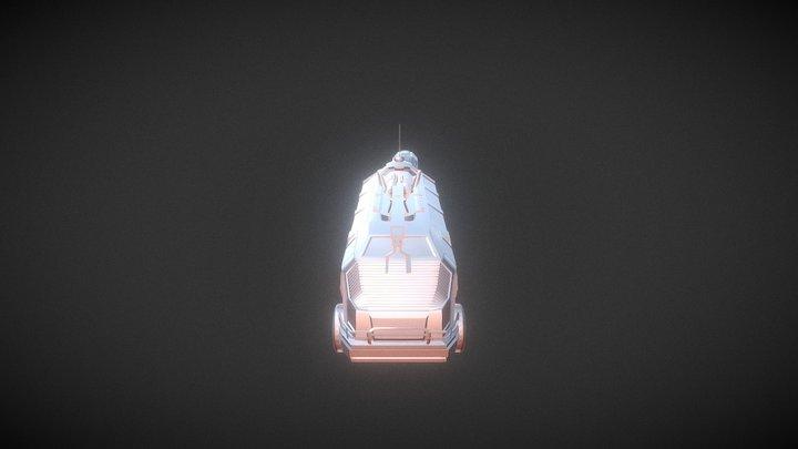 Sci fi Multi Purpose Truck 3D Model