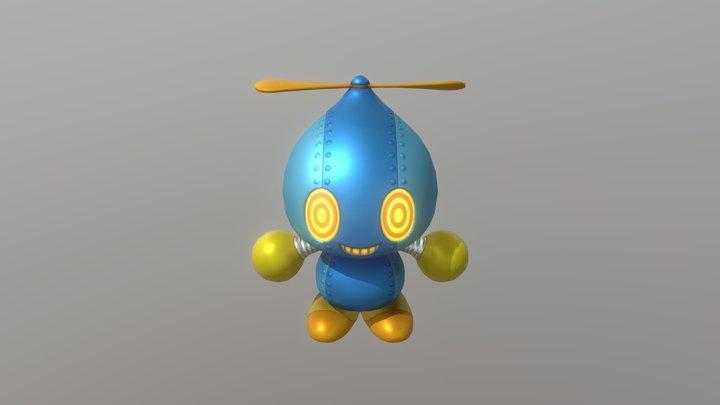 Omochao 3D Model
