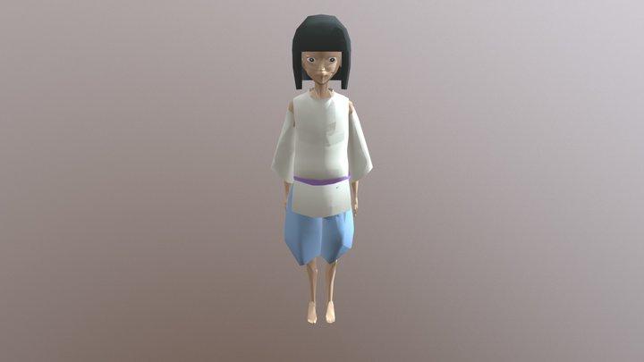 FINAL COLOR HAKU 3D Model