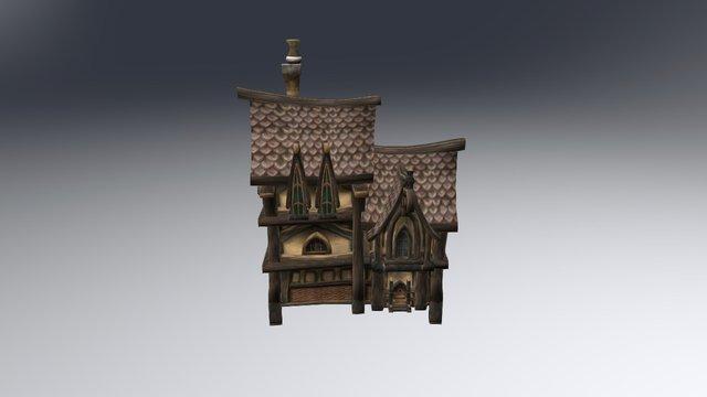 Gilneas Detached House 3D Model