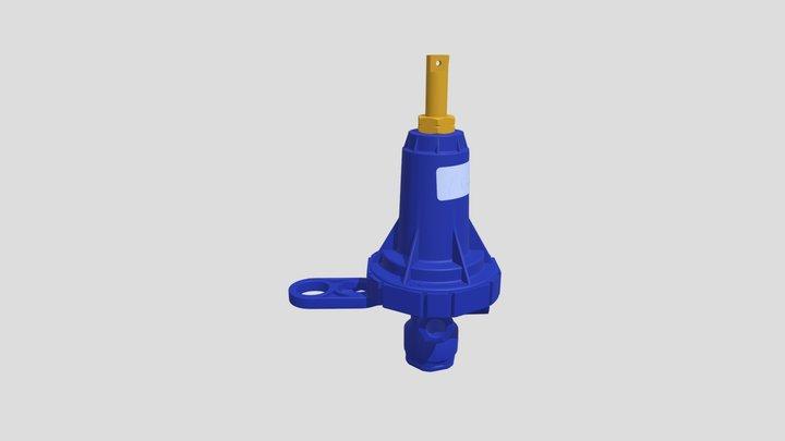 Pral Azul 3D Model