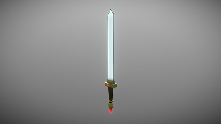Magical Sword Tutorial 3D Model