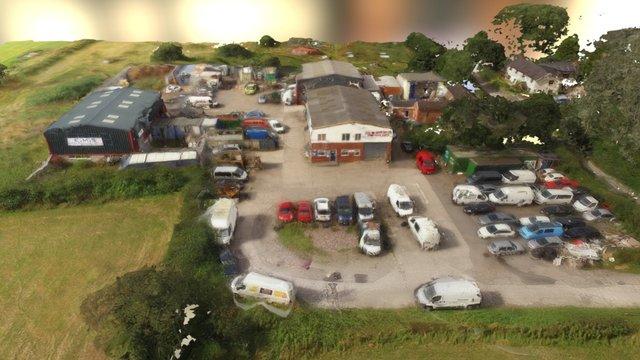Kents Lane Farm 3D Model