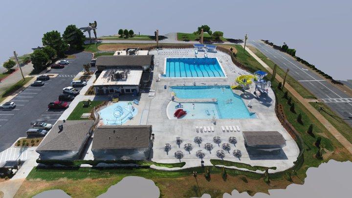 Wills Park Pool 06-06-18 3D Model