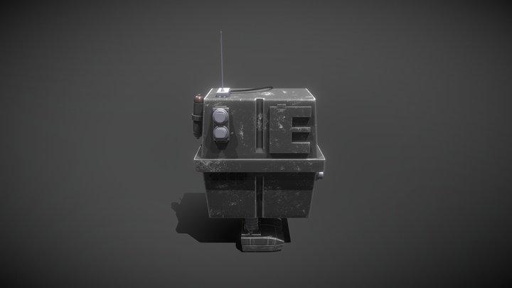 Star Wars Gonk Droid 3D Model